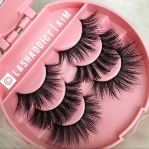Mink Eyelashes Mink Lashes & Eyelash Case Makeup